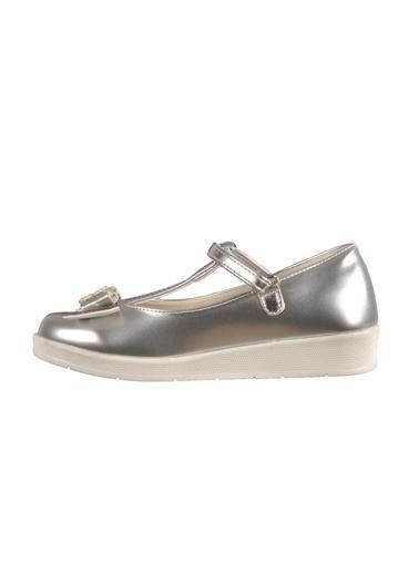 Osaka 4908 Sedef-Pudra Çocuk Günlük Ayakkabı Gümüş